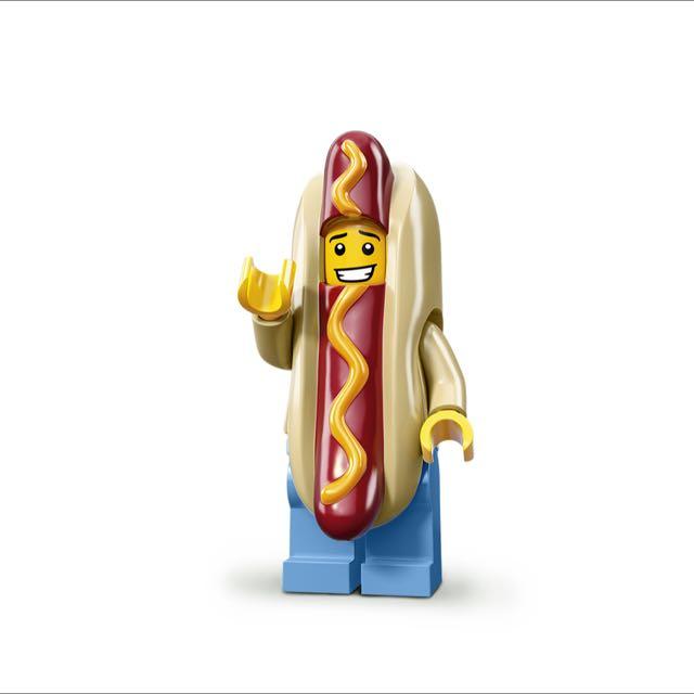 Lego 人偶 13代 熱狗人