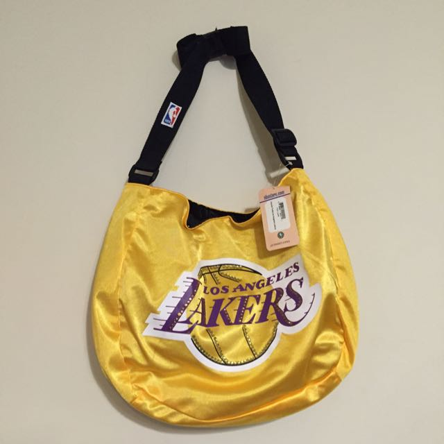 NBA LAKERS側背包(全新)