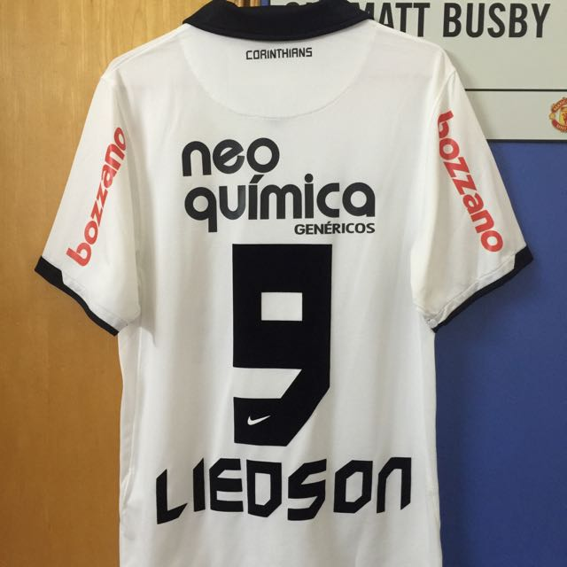 43ac3ba2a99 Official Authentic NIKE Corinthians 2011 Home Jersey LIEDSON #9 ...