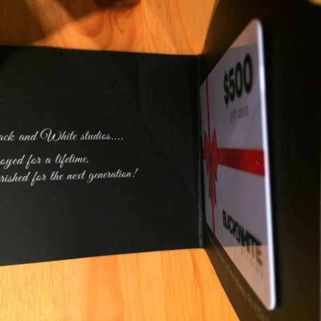 Photography Studio $500 Gift Card