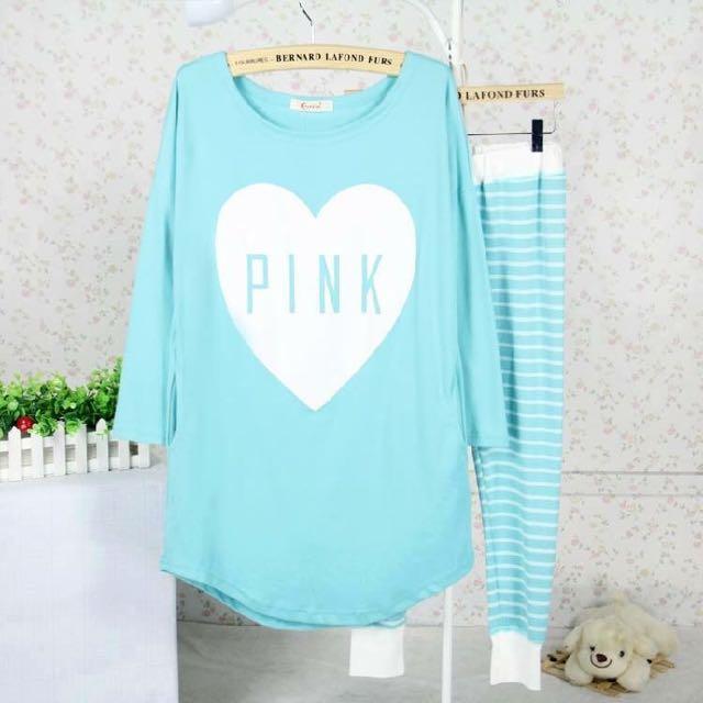 👏🏻👏🏻👏🏻韓風PINK睡衣❤️