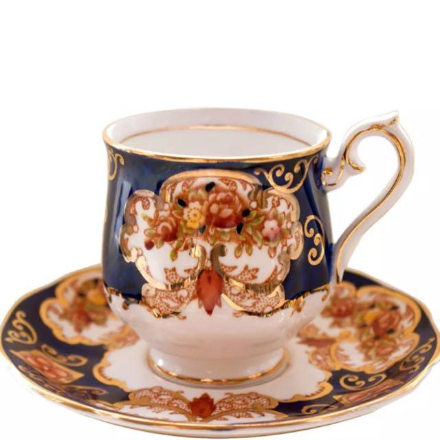 Royal Albert Heirloom Coffee Duo (pre-order)