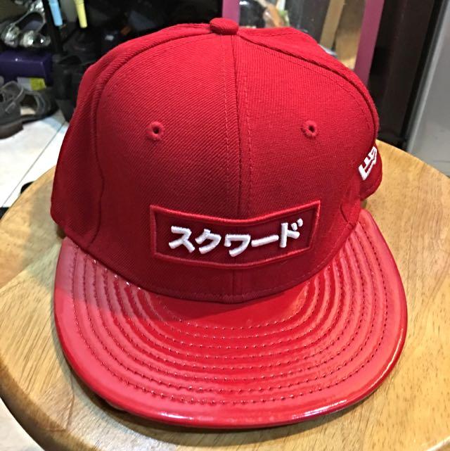 SQUAD 正紅帽