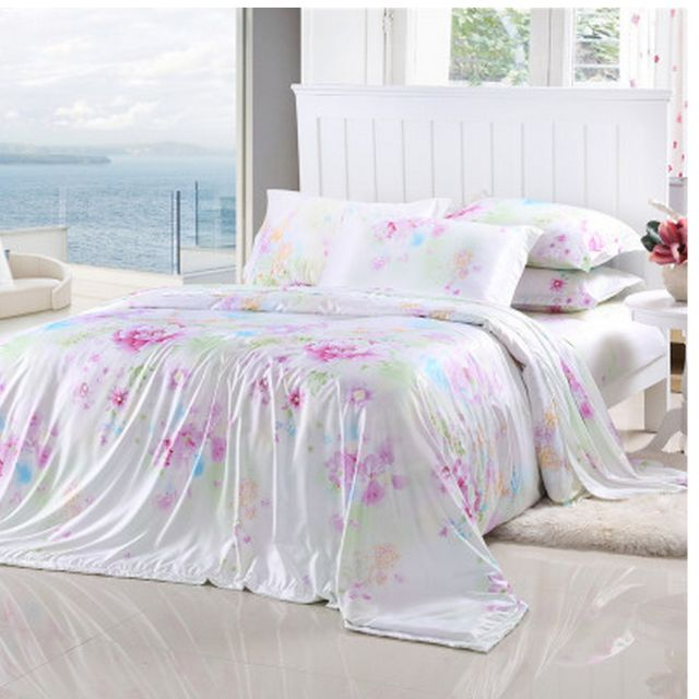 tencel bedsheet set recommended for queen size mattress comes with quilt cover bed sheet and. Black Bedroom Furniture Sets. Home Design Ideas