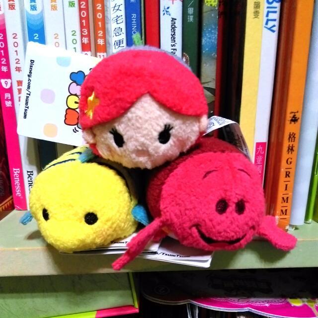 (免運)全新香港迪士尼小美人魚正版TSUM TSUM