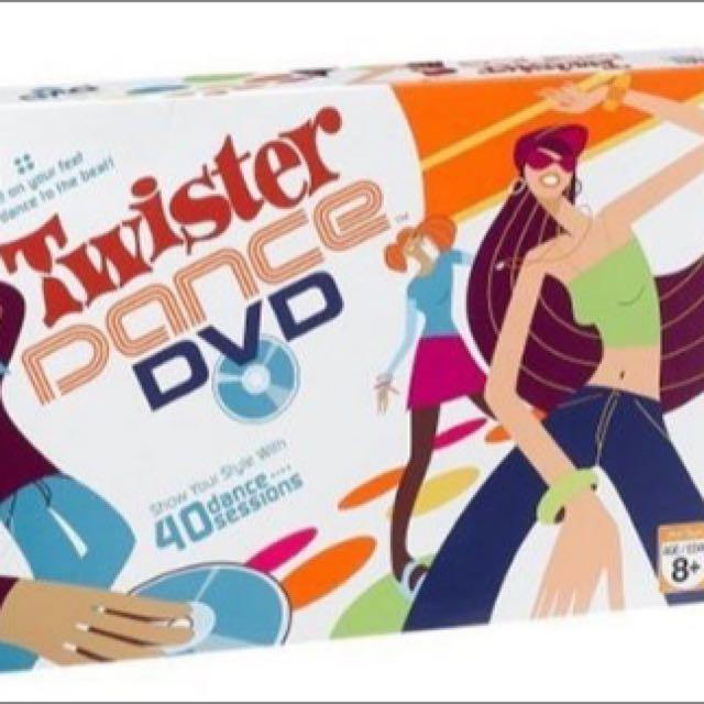 Twister Dance DVD Interactive game - Hasbro