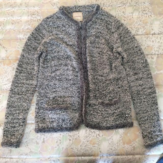(售出)ZARA 針織 毛衣罩衫 小外套