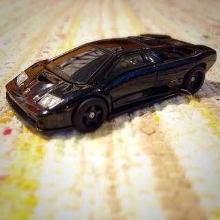 1999 Lamborgini Diablo GT-R Black 合金模型
