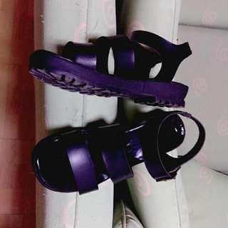 羅馬平地氣墊涼鞋