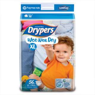 Drypers Diaper Size XL (2 Packs)