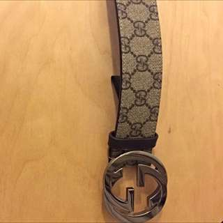 Gucci Leather Belt For Man