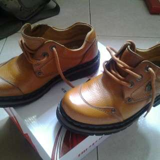 Brand GATS Shoes Leather(2 Time Use)size 38
