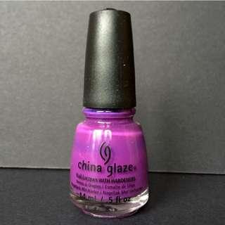 全新China Glaze指甲油