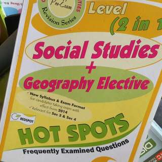 Social Studies And Geography electives