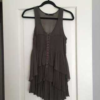 Sportsgirl Tunic/Mini Dress Sz S