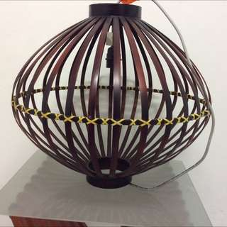 Bamboo Lampshade From Lim's Art