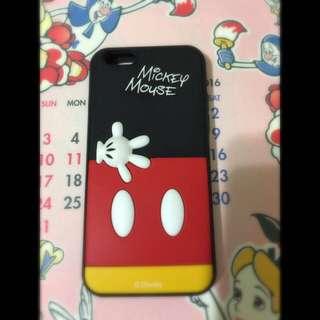 🇯🇵購入I Phone6 Mickey Mouse手機軟殼