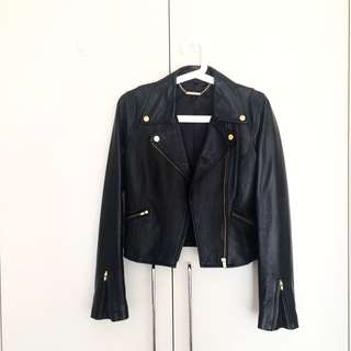 Forever New Genuine Leather Jacket