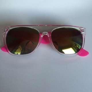 Sunglasses - Retro Wayfarer Mirror Lens