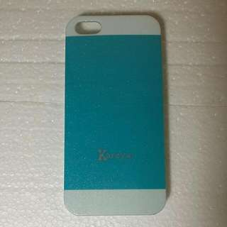 Light blue Iphone 5/5s smartphone protection case