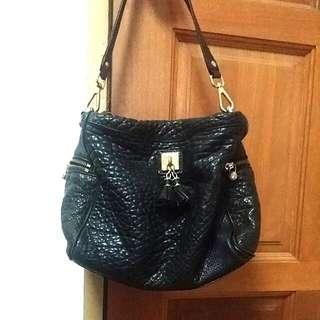 Tocco Toscano Leather Tassel HandBag