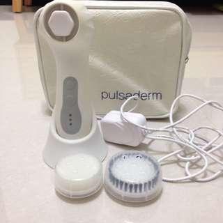 《夏天快到了》3D音波脈衝洗臉機 三段式-白色