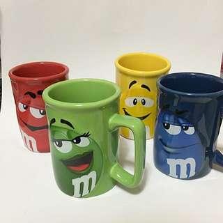 M&M立體馬克杯