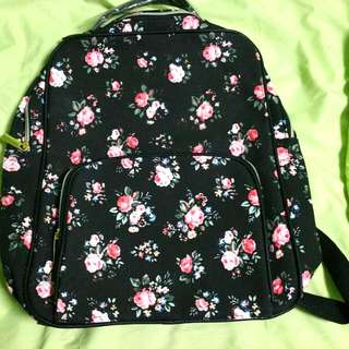 BN Floral A4size Backpack