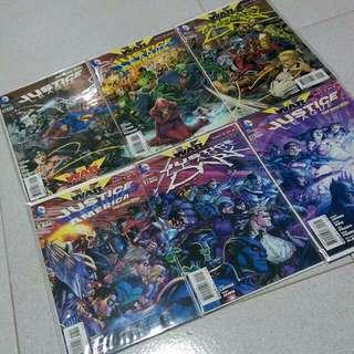 DC Comics New 52 Justice League Trinity War