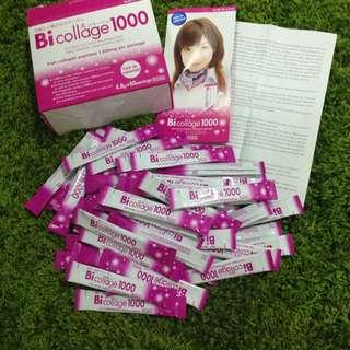 60 serving/ pack of Japan Bi collage 1000 collagen