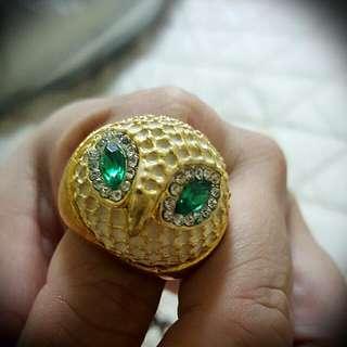 貓頭鷹戒指