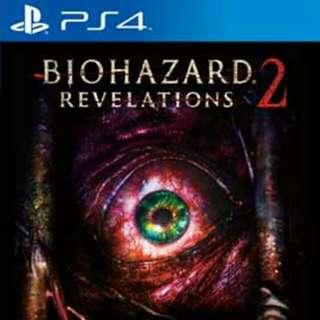 PS4 惡靈古堡 啟示2 中文版