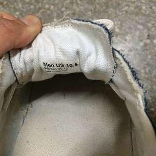 vans 九成新 經典帆布懶人鞋