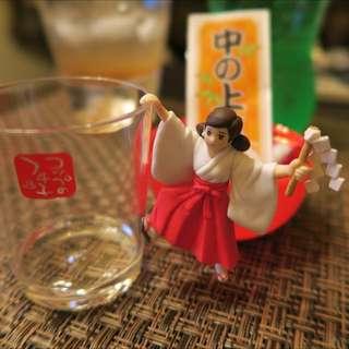 運勢杯緣子 - 紅裙(中吉)