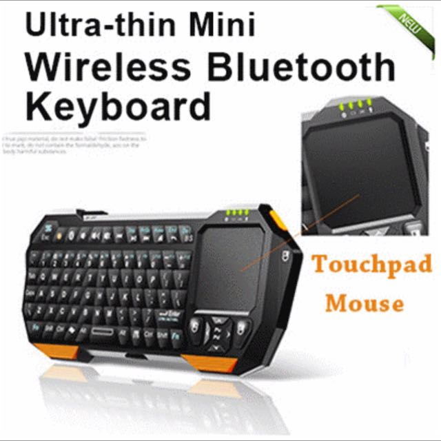a638a85f204 ONLY 1 LEFT] 2 in 1 Wireless Bluetooth Keyboard + Touchpad Mouse ...
