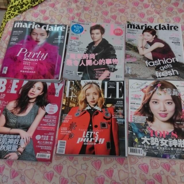 多款雜誌出清
