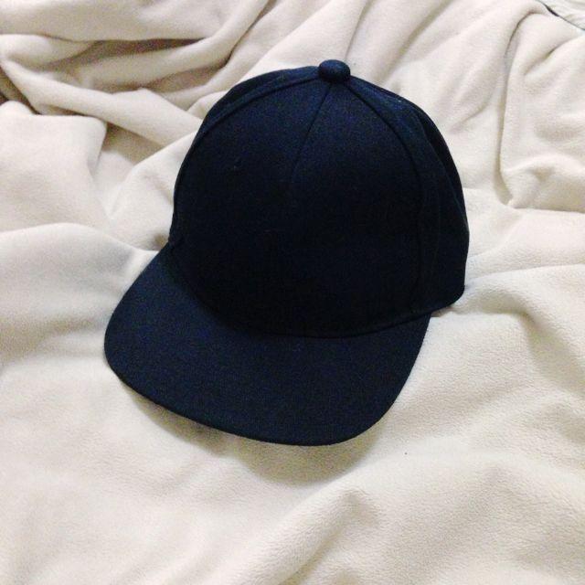 🐃素色黑色板帽棒球帽