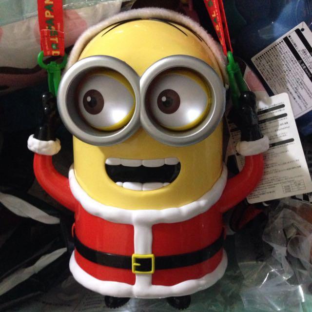小小兵聖誕版 爆米花桶 2015