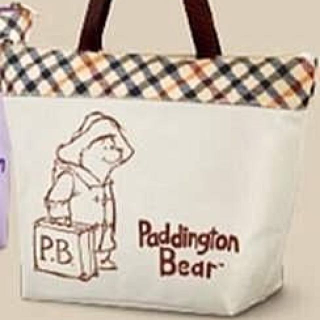 柏靈頓熊 環保購物袋 便當袋