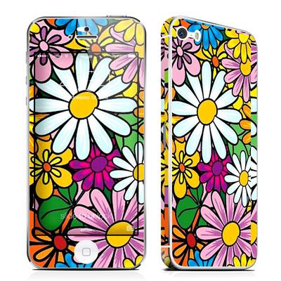 🎊全新🎊 iPhone 5/5S 前後 保護膜 滿版鮮花