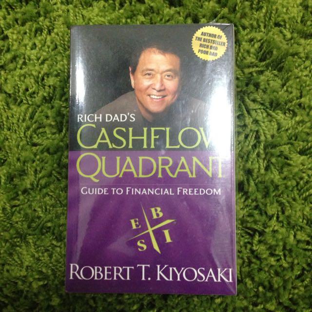(Brand new)Robert T.Kiyosaki cashflow quadrant