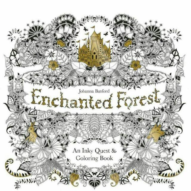 Enchanted Forest (魔法森林:《秘密花園》第二集)原文版 全新誠品購入
