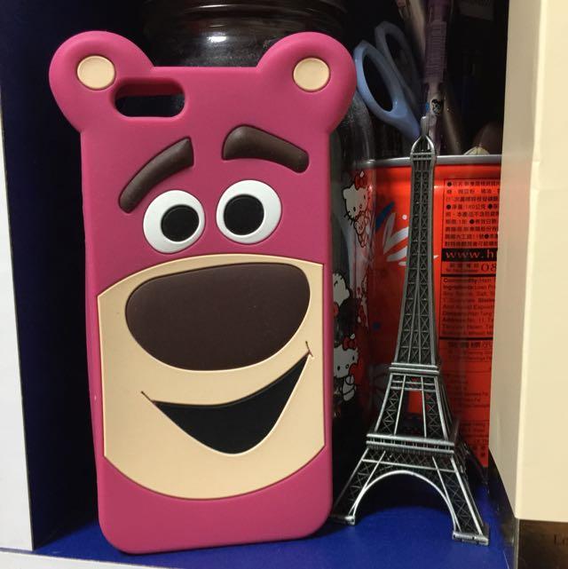 Iphone6 草莓熊抱哥 Lotso 手機軟殼