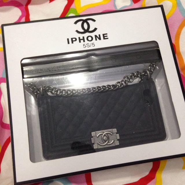 iPhone 5/5s 手機殼 小香包