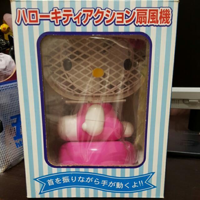 Kitty桌上型電風扇(全新)
