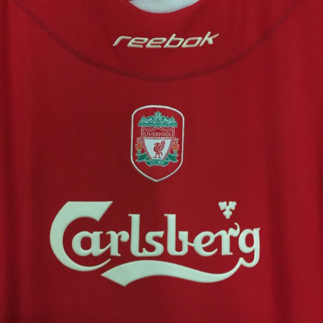 a789fec8be1 Liverpool FC Reebok Home Jersey Season 2002 2004