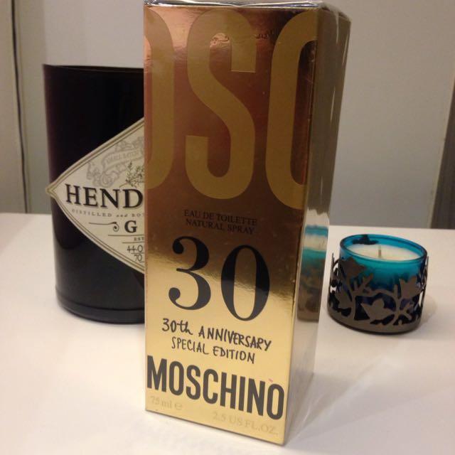 Maschino 30週年限量版香水75ml