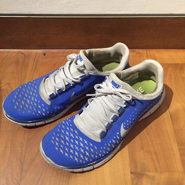 hot sale online 4d650 56a97 Nike Free Run 3.0 Blue US8.5
