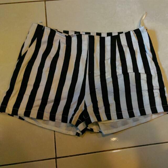 Pazzo條紋短褲🙏
