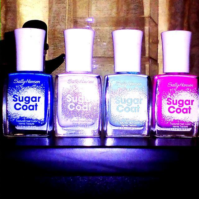 Sally Hansen x3 Sugar Coat Nail Polish (BRAND NEW)